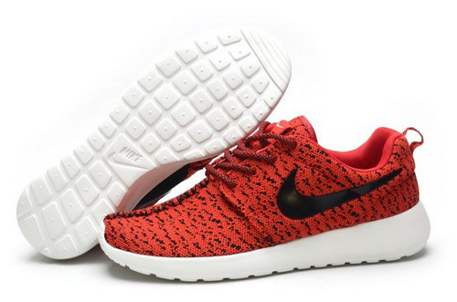 Womens Nike Roshe Yeezy Boost 350 Red Black Poland